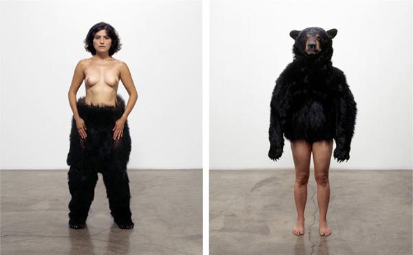 Bear Study Diptych