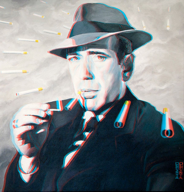 Classic Hollywood Paintings, Now in 3D