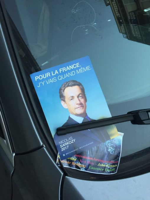 Sarkozy - Pour la france, j'y vais quand même